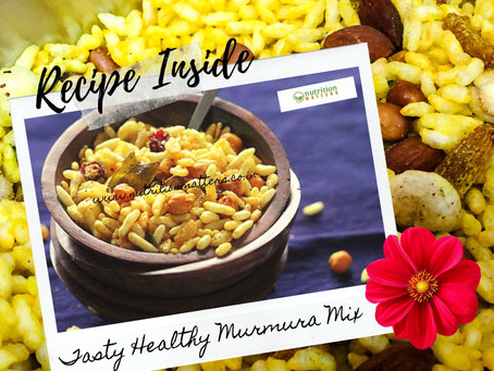 The Most Tasty Healthy Murmura (Puffed Rice) Indian Namkeen Snack You Can Make at Home