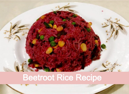Make South Indian Style Tasty Beetroot Rice at Home, loaded with Healthy Nutritional Benefits