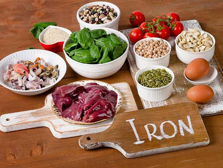 Top Iron Rich Foods - Fight Iron Deficiency Anaemia
