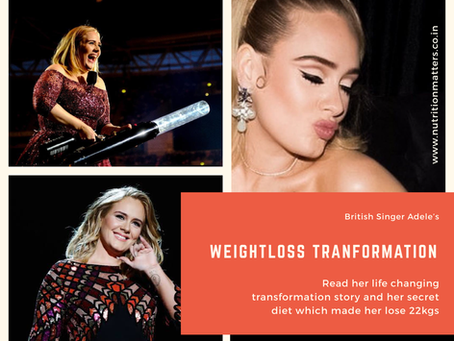 The Secret Diet You Didn't Know Behind British Singer Adele's Weight Loss Transformation