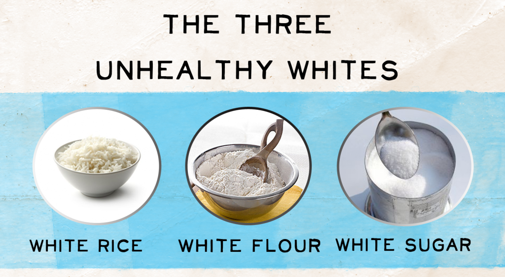 White Food Effects