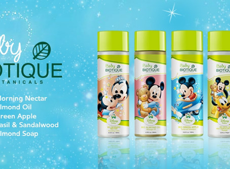 Made For Our Special Babies: Disney Biotique Baby Product Range