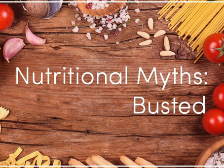 Top 10 Nutrition Myths You Shouldn't Believe In
