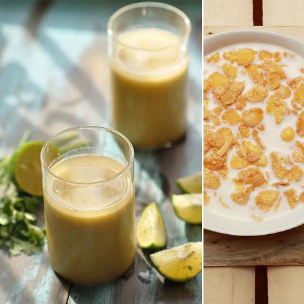 Sattu Shake Cereal Milk Benefits