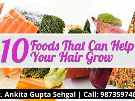 Top Healthy Diet Tips to have Healthy Shiny Hair you always Wanted