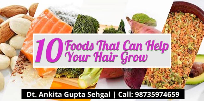 Top 10 Diet Tips for Healthy Shiny Hair and Proper Hair Growth
