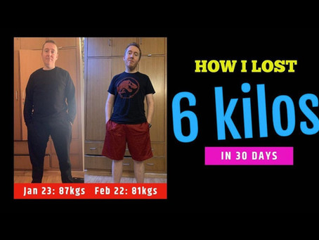 Meet Jamie Alter & his Weight Loss Transformation - 7Kgs Down in 1 Month; Client's Success Story