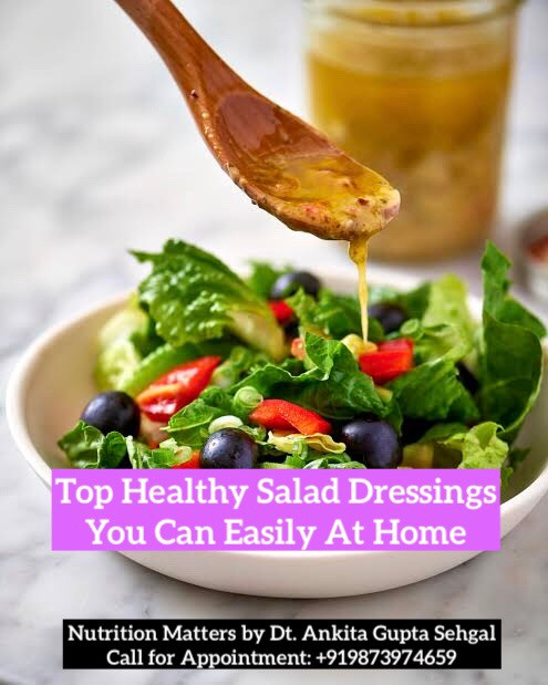 Top Healthy Salad Dressings Recipe - Home Made