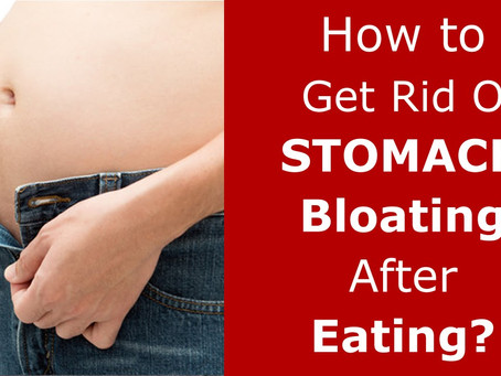 Top Foods Which Cause Stomach Bloating!