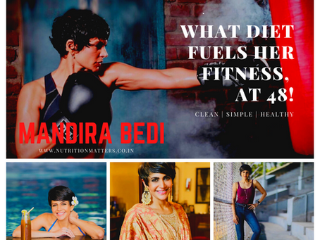 Mandira Bedi's Secret Diet Can Give You the Perfect Waistline You Always Desire