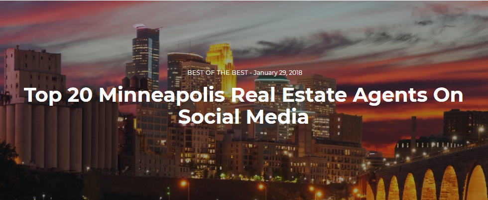 Top 20 Minneapolis Real Estate Agents On Social Media