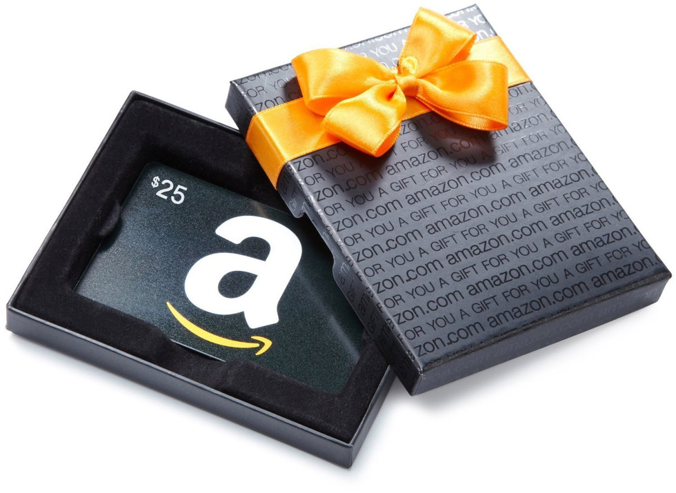 December $50 Amazon Gift Card