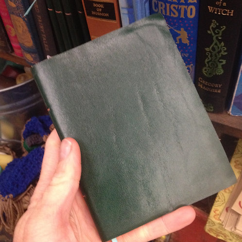 Leatherbound journal-small