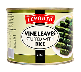 Lepanto Vine Leaves Stuffed with Rice 2kg