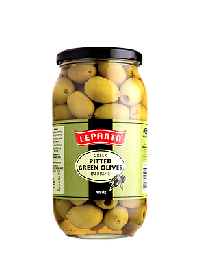 Lepanto Pitted Green Olives 1kg