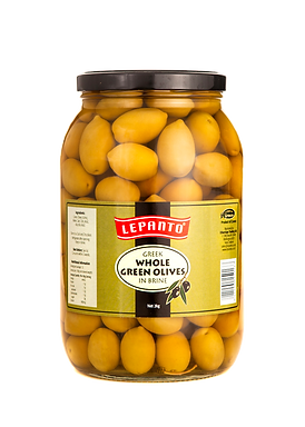Lepanto Whole Green Olives 2kg