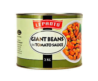 Lepanto Giant Beans in Tomato Sauce 2kg