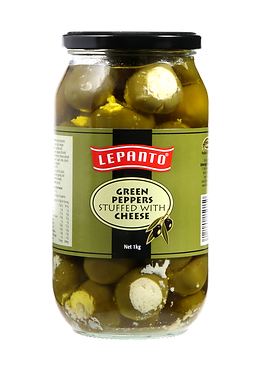 Lepanto Green Peppers with Cheese 1kg