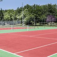 Cottage Coeur des Landes tennis