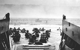 Settore americano D-DAY in Normandia da Honfleur
