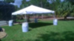 15X15 White Tent