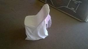 folding banquet chair cover Linen