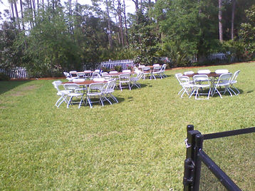 White Samsonite Chairs