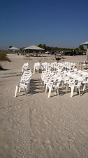 White Beach Chairs