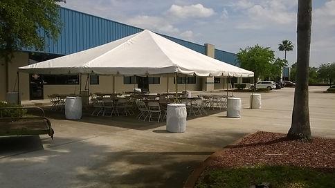 30X30 White Tent