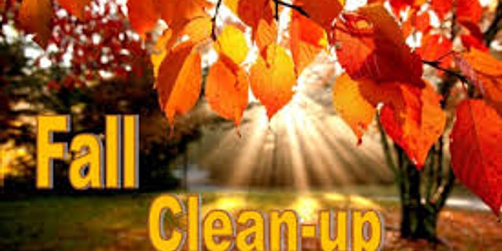 Parish Clean-up Day, Saturday November 17th, 9 a.m.- 12 p.m.