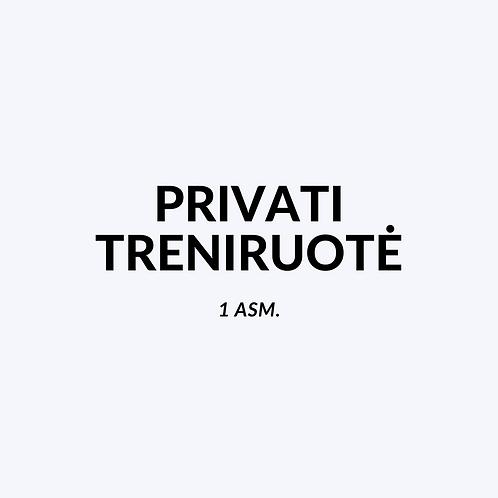 Privatus treneris 1asm.