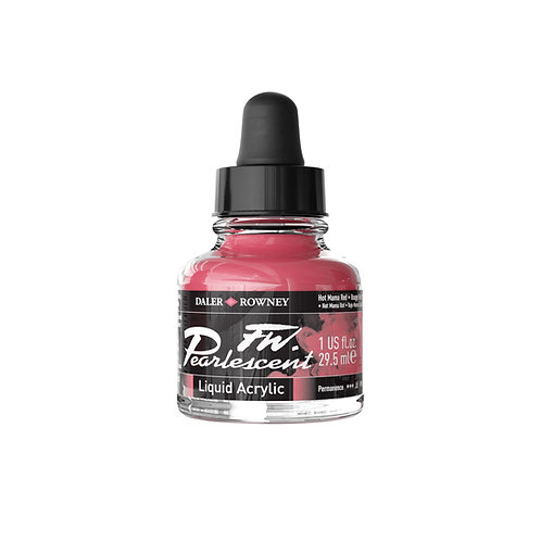 FW Ink Pearl 29.5 ml Hot Mama Red