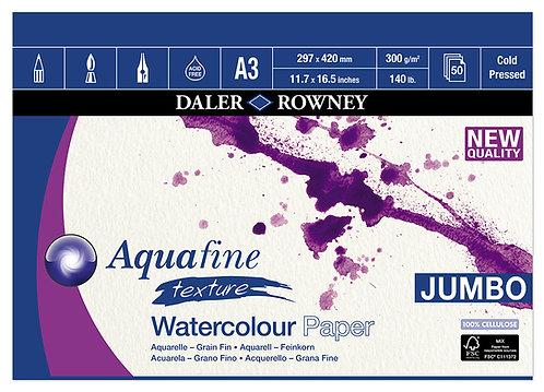 Aquafine Cold Pressed A3, 50 ark 300gr