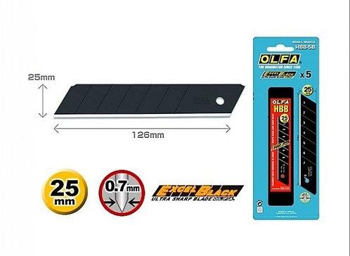 Olfa HBB-5B - Knivblader 25mm Extra Sharp