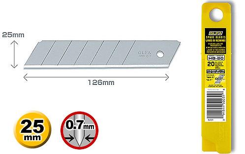 Olfa HB-5B - Knivblader 25mm