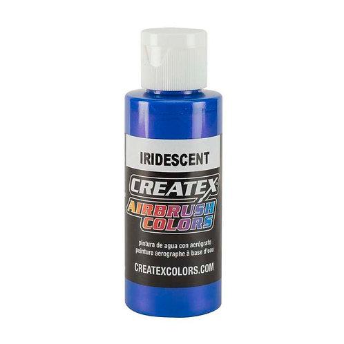 Createx Airbrush - Iridescent Electric Blue 60 ml.