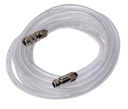 Slange 2.5 m med koblinger for airbrush og kompressor