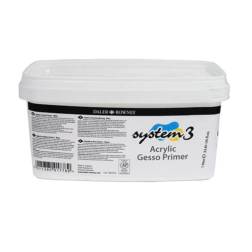 DR System 3 - Gesso Primer, 1000 ml.