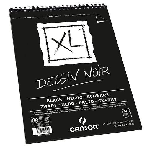 Canson XL Dessin Noir 150 gr.