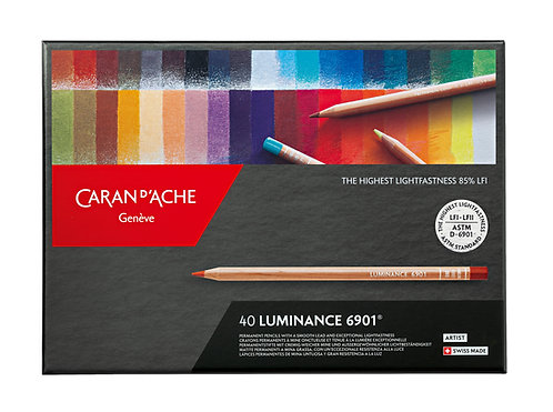 Luminance 6901, box 40 colour pencils