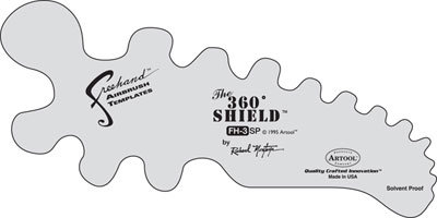 Freehand Stencil - The 360 Shield