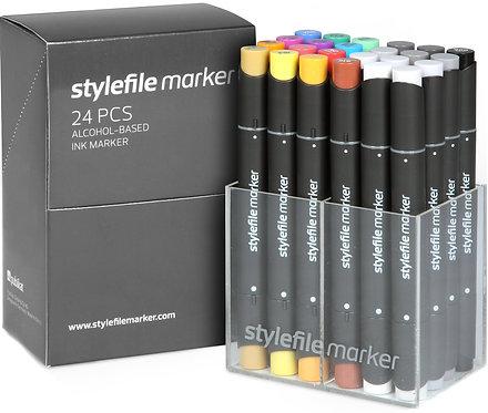 Stylefile Classic 24 stk. - Startsett A