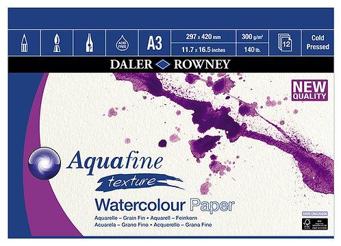 Aquafine Cold Pressed A3, 12 ark 300gr