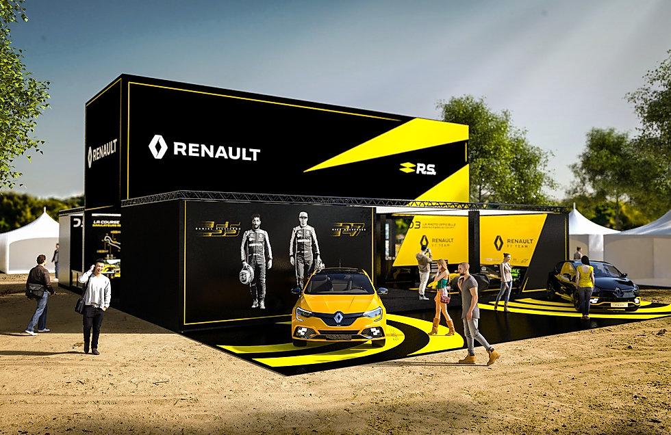 Renault Fan Zone GP France 2019