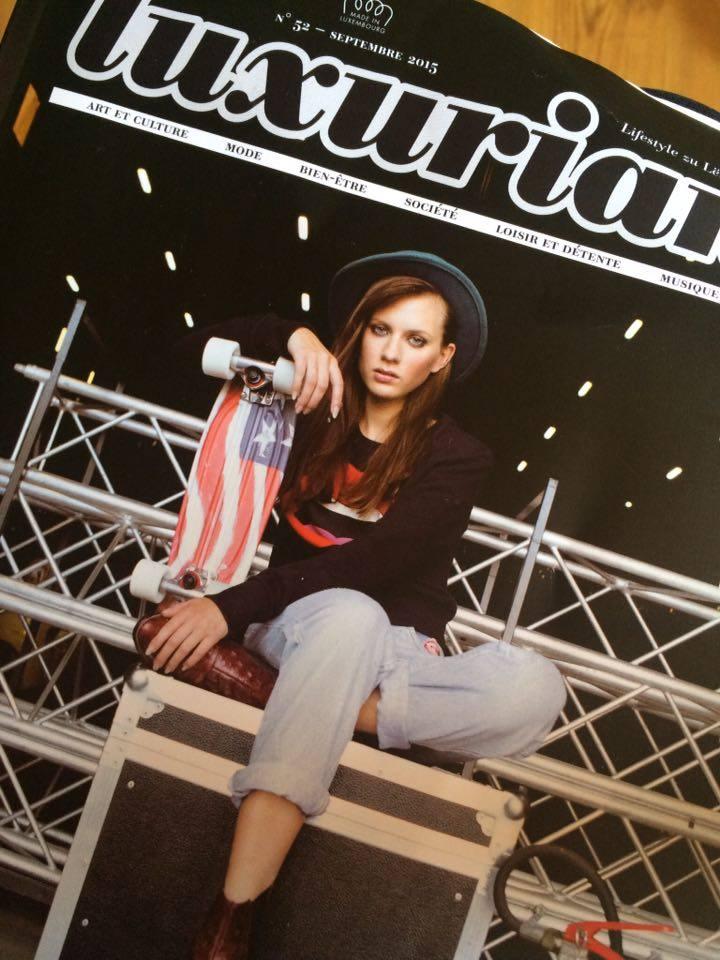Magazin Fotoshooting