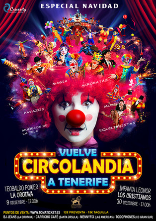 """GRAN EXITO DE """"CIRCOLANDIA"""""""