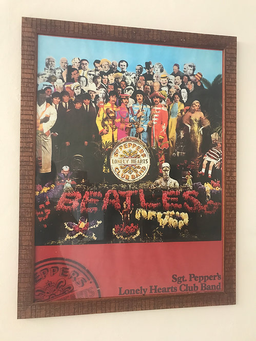 CUADRO POSTER THE BEATLES SGT. PEPPERS