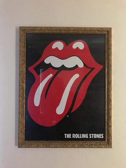 CUADRO POSTER ROLLING STONES