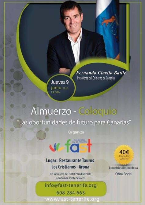 FAST - Presidente Gobierno de Canarias