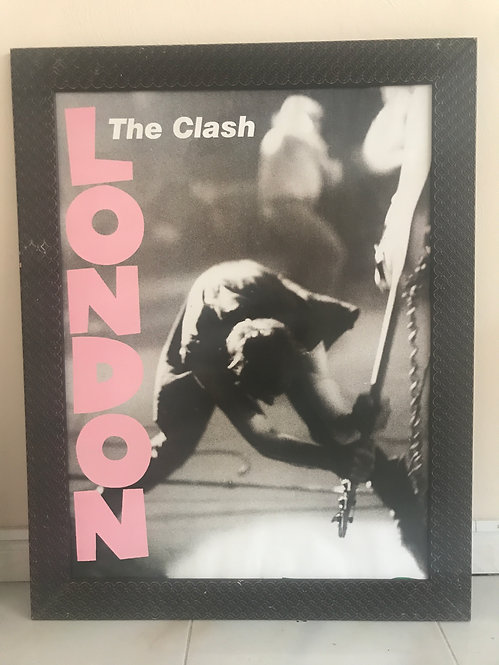 CUADRO POSTER THE CLASH